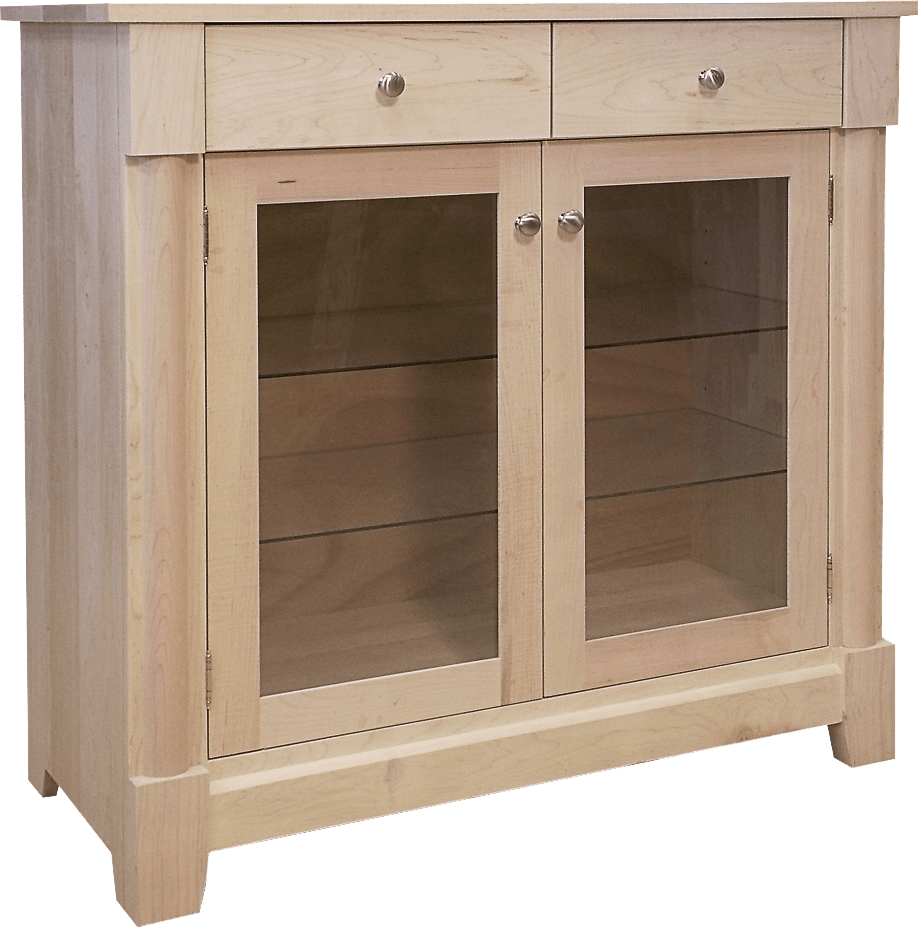 Tranquil Solid Wood Buffet -modern sideboard-01