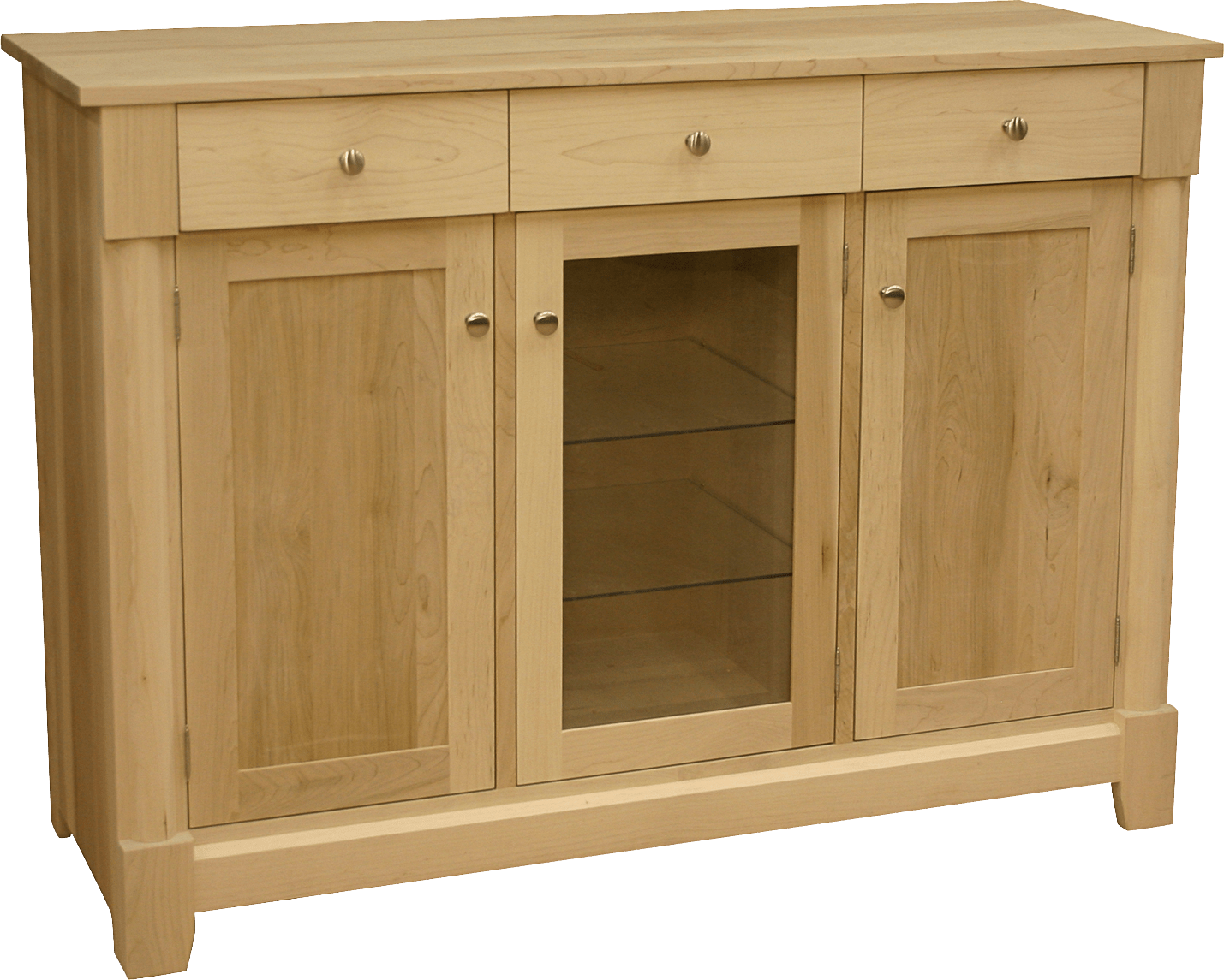 Tranquil Solid Wood Buffet -modern sideboard-03