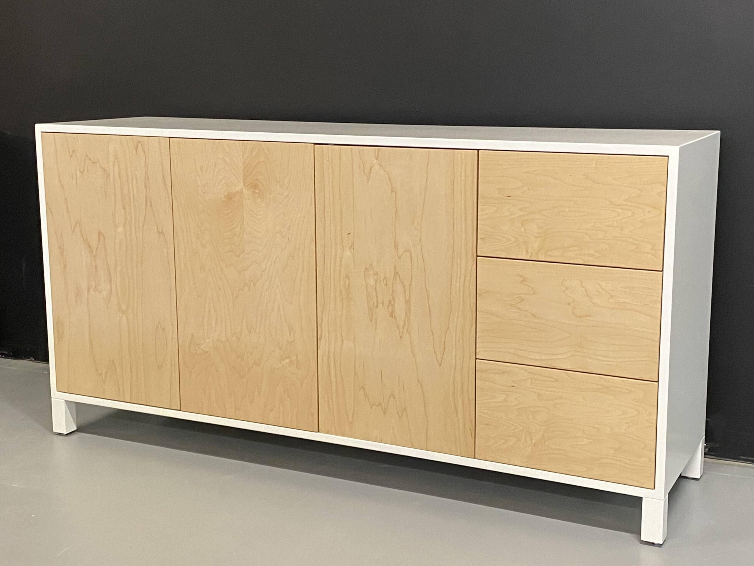 solid wood modern buffet-01