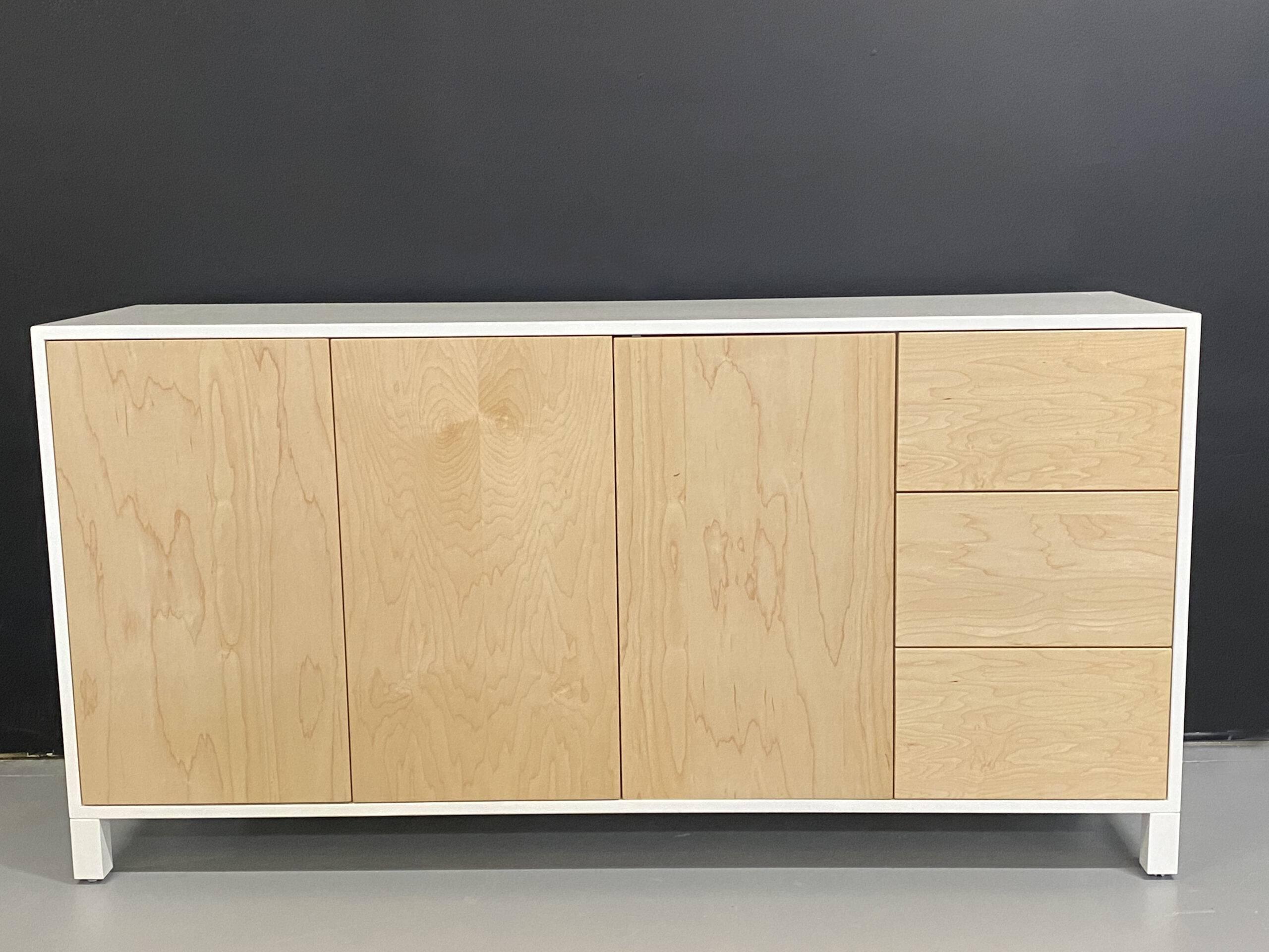solid wood modern buffet-02
