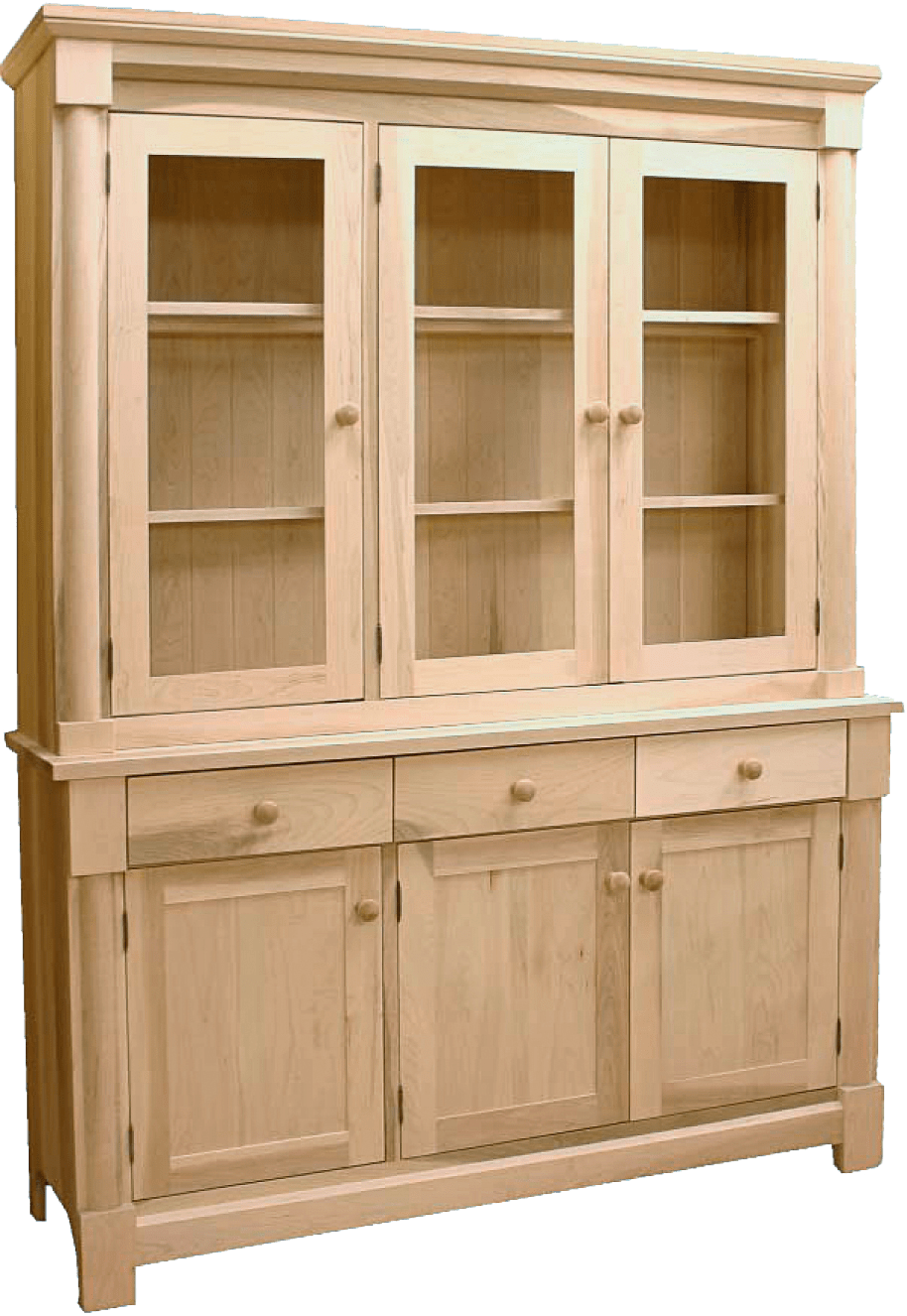 Tranquil Solid Wood Buffet -modern sideboard-02
